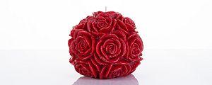 Rubinasta pravljična sveča