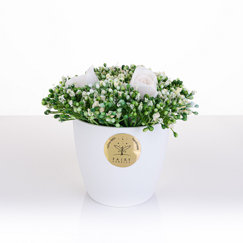 Biserni cvetlični gozdiček, mali